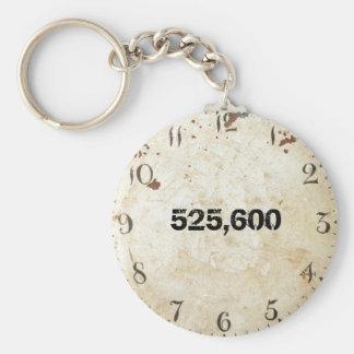 525,600 Minutes Keychain