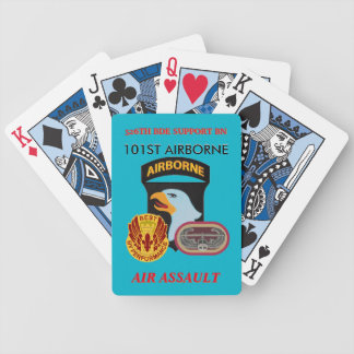 526TH SUPPORT BN 101ST AIRBORNE PLAYING CARDS