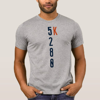 5280 5K Running T-Shirt - Denver, Colorado