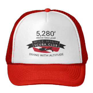 5280 Mile High Scuba Club Hat