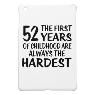 52 The First  Years Birthday Designs iPad Mini Case