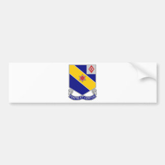 52nd Infantry Regiment - Brave and True Bumper Sticker