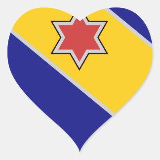 52nd Infantry Regiment - Brave and True Heart Sticker