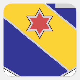 52nd Infantry Regiment - Brave and True Square Sticker