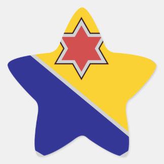 52nd Infantry Regiment - Brave and True Star Sticker