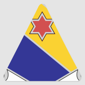 52nd Infantry Regiment - Brave and True Triangle Sticker