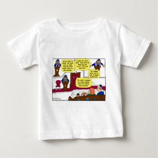 531 Rabbi Vacation cartoon Baby T-Shirt