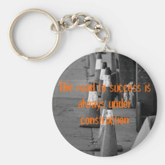 538322407_7856d9a679, The road to success is al... Keychain