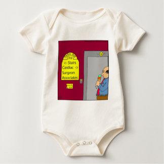 538 stairs cartoon baby bodysuit