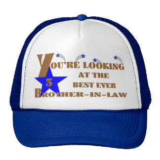 53Best Ever 5-Star Brother-in-law Trucker Hat