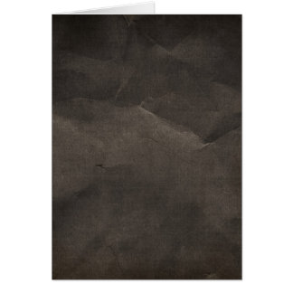 5411 CRUMPLED BLACK COAL PAPER DARK EMO  RANDOM BA CARD