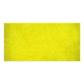5453 SPORTS neon YELLOW BACKGROUND WALLPAPER DIGIT Custom Photo Card