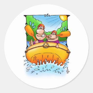 54_raft classic round sticker