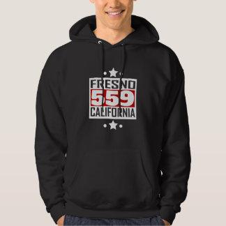 559 Fresno CA Area Code Hoodie