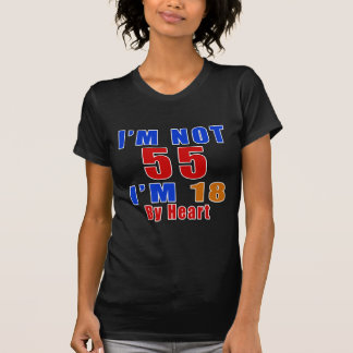 55 American Legend Birthday Designs T-Shirt
