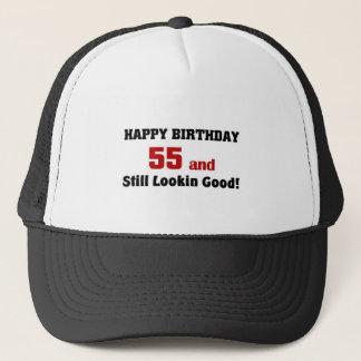 55 and still lookin good trucker hat