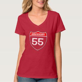 55 Anniversary T Shirts