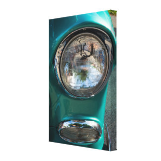 55 Chevy Headlight Canvas Print