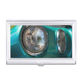 55 Chevy Headlight Case For Business Cards