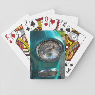 55 Chevy Headlight Playing Cards