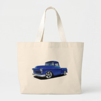 55 Chevy Large Tote Bag