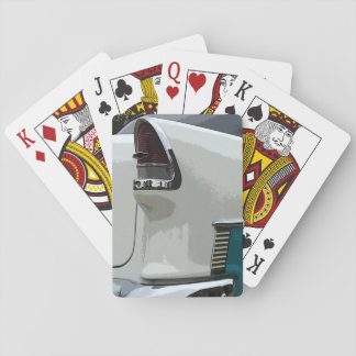 55 Chevy tail light playing cards. Playing Cards