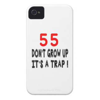 55 Don't Grow Up, It's A Trap Birthday Designs iPhone 4 Cover