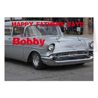 55 Nomad Station Wagon Greeting Card. Card