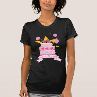 55 Year Old Birthday Cake T-shirts