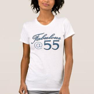 55 year old birthday designs shirt