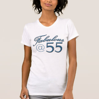 55  year old birthday designs tee shirt