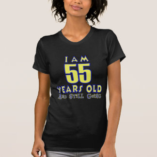 55 YEARS OLD BIRTHDAY DESIGNS SHIRT