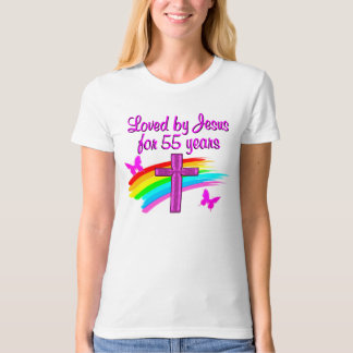 55 YR OLD BLESSING SHIRT