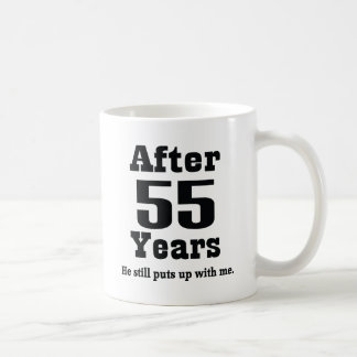55th Anniversary (Funny) Basic White Mug