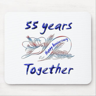55th. Anniversary Mousepads