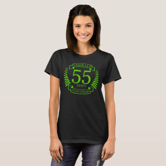 55th Wedding ANNIVERSARY EMERALD T-Shirt