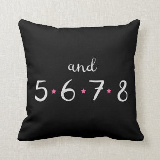 5678 Dance Pillow
