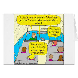 567 bus driver zazzle.png greeting card