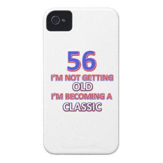 56 birthday design iPhone 4 cover