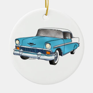 56 Chevrolet Belair Ceramic Ornament