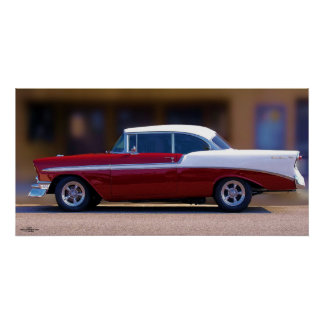 '56 CHEVY BEL AIR POSTER