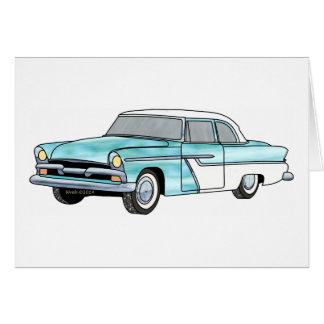56 Plymouth Savoy Card