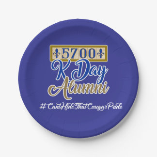 5700 K Day Paper Plates