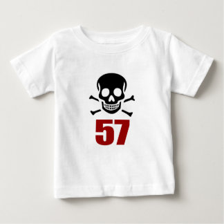 57 Birthday Designs Baby T-Shirt