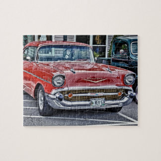 57 Chevy Jigsaw Puzzle