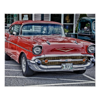 57' Chevy Poster