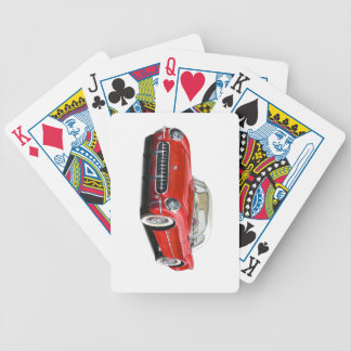 57 Corvette Bicycle Playing Cards