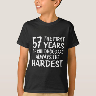 57 The First  Years Birthday Designs T-Shirt
