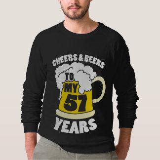 57th Birthday party Sweatshirt