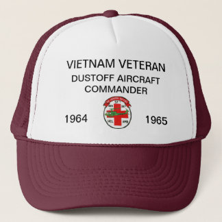 57th DUSTOFF AIRCRAFT COMMANDER MESH HAT
